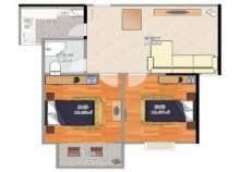 出售缽池小區 78平米 二室 57.6萬元
