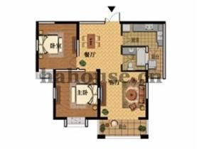 維多莉雅花苑 167平米 一室 126萬元4房 婚房裝修