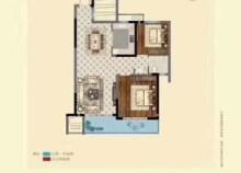 出售中天翡麗灣 121.2平米 三室 133萬