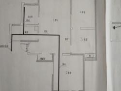 出租世紀華庭 107平米 三室 107元/月