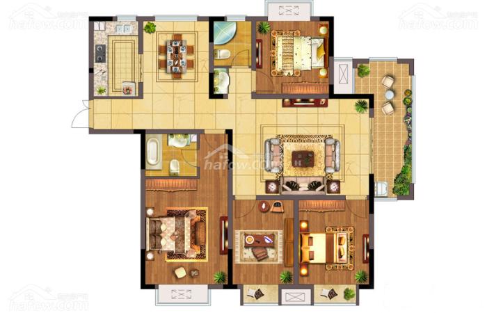 東方雅居 4室2廳2衛-142