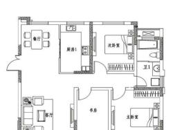 三室二廳一衛 115.11平方