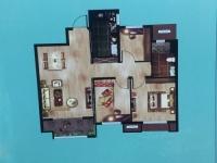 三室二厅一卫 93平方