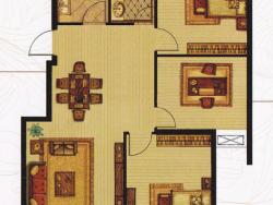 三室二廳一衛 113平方