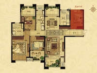 四室二厅一卫 156平方