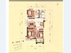 三室二廳一衛 120平方
