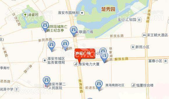 燁宸廣場 效果圖