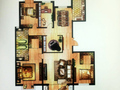 金吉·华冠苑 四室二厅二卫-206平方