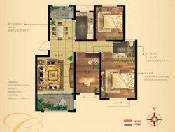 三室二廳一衛 104至112平方