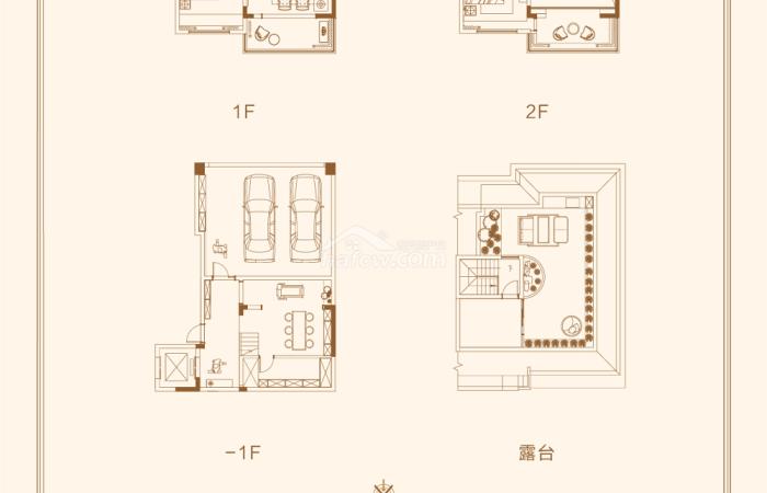 九里香頌 戶型圖