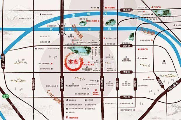 水沐明悅府 區位圖