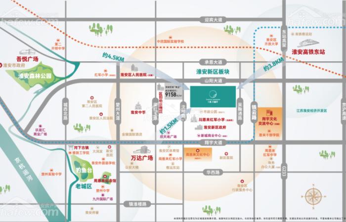 中奧·天樾府 區位圖