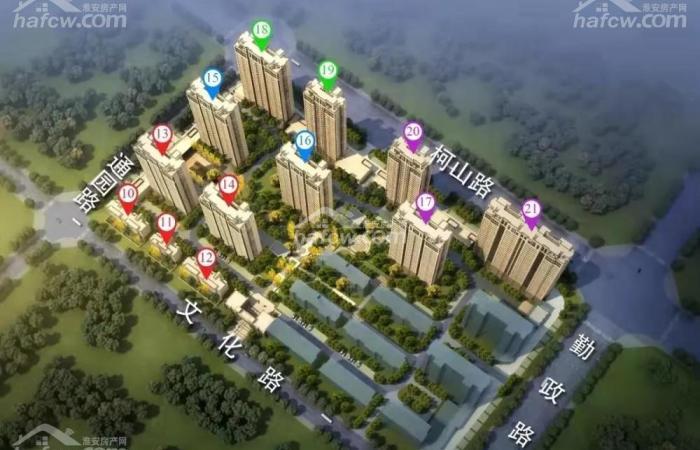 報業新城·天境 鳥瞰圖