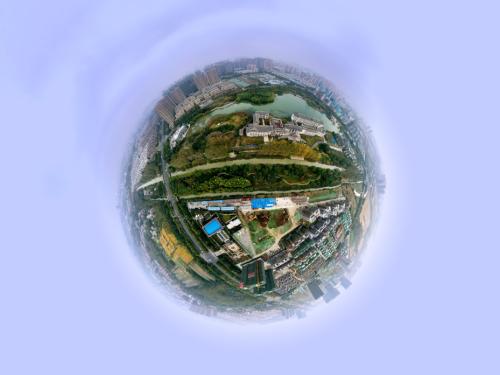 淮安水沐明悅府VR全景航拍