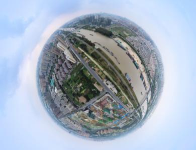 中梁弘陽·運河風華VR全景航拍、樣板間VR全景